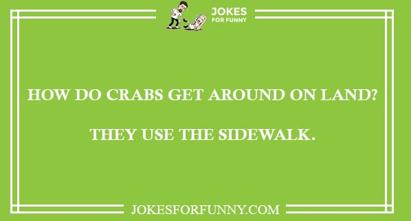 best crabs jokes