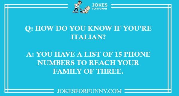 best italian jokes