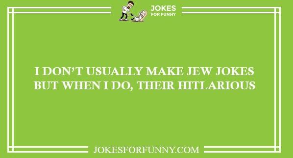 best jew jokes