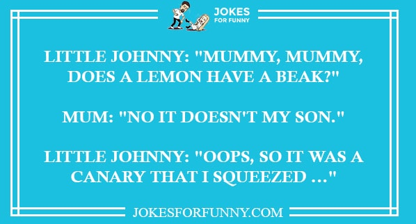 best little johnny jokes