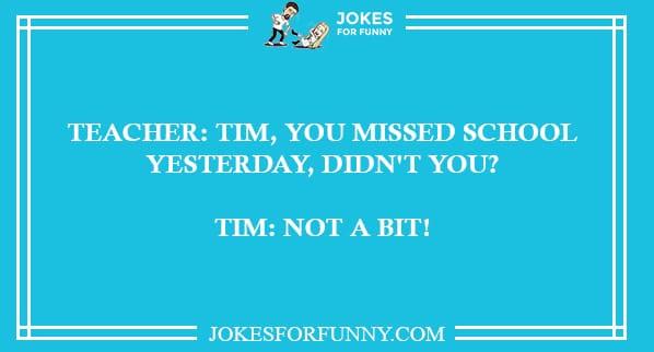 best teacher jokes