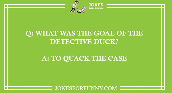 best duck jokes