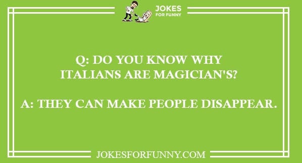 funny italian jokes