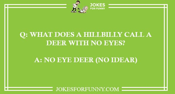 funny redneck jokes