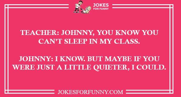 funny teacher jokes