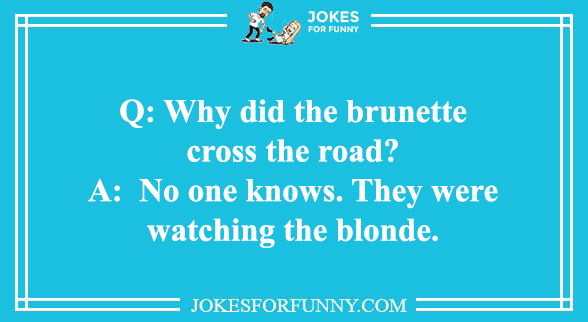 best brunette jokes