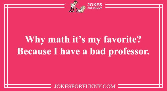funny math puns