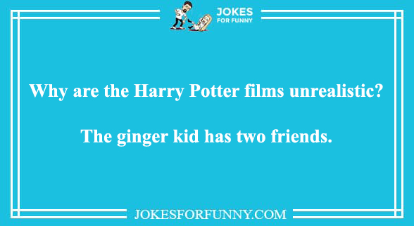 ginger funny jokes