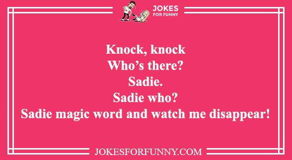 knock jokes