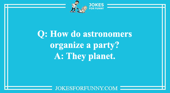 science and space jokes